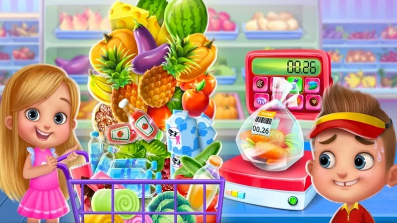 Fun Kitchen Cooking Games For Kids - Chef Kids - Kids Learn Care How To Cook Yummy Food