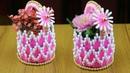 DIY Flower Vase For Home Decor How to make flower vase Best out of waste Best reuse ideas