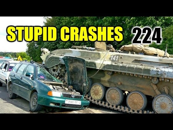 Stupid driving mistakes 224 (June 2018 English subtitles)