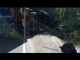 Лобовое ДТП в Ашинском районе, м-5, Тойота и фура