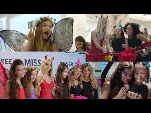 Kaylyn Slevin, Jayden Bartels, Tahani Anderson MISS BEHAVE GIRLS Store 2016 GRAND OPENING