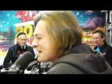 Сергей Безруков поёт песню на стихи Сергея Есенина