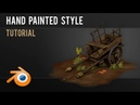 How to hand paint low poly models - Advanced