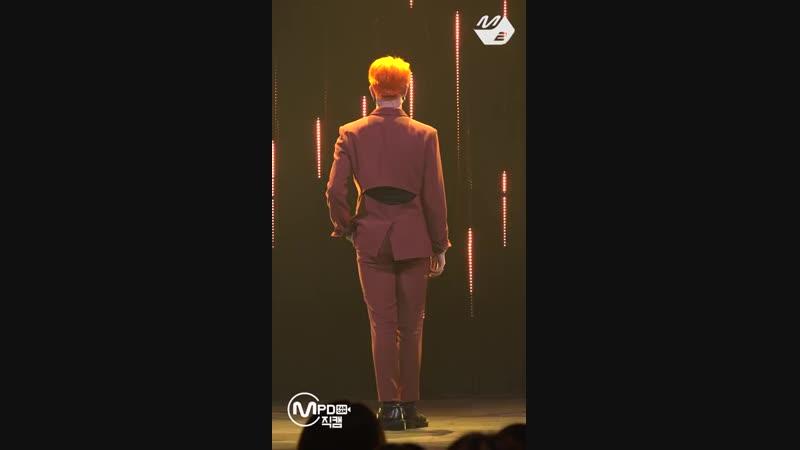 FANCAM | 181018 | Kim Dong Han — «Good Night Kiss» [M!Countdown]