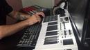 Jazzy Hip Hop Beat Beatmaking practice M audio Code 25