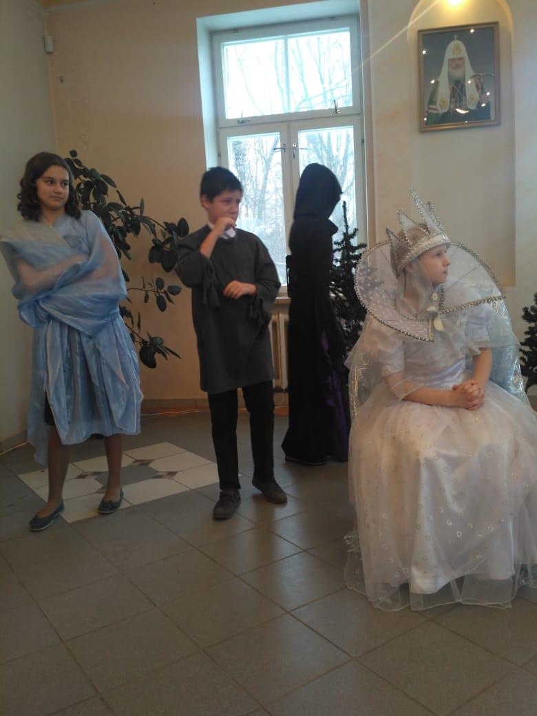 Рождественский концерт Воскресной школы при храме святых Космы и Дамаина в Космодемьянском
