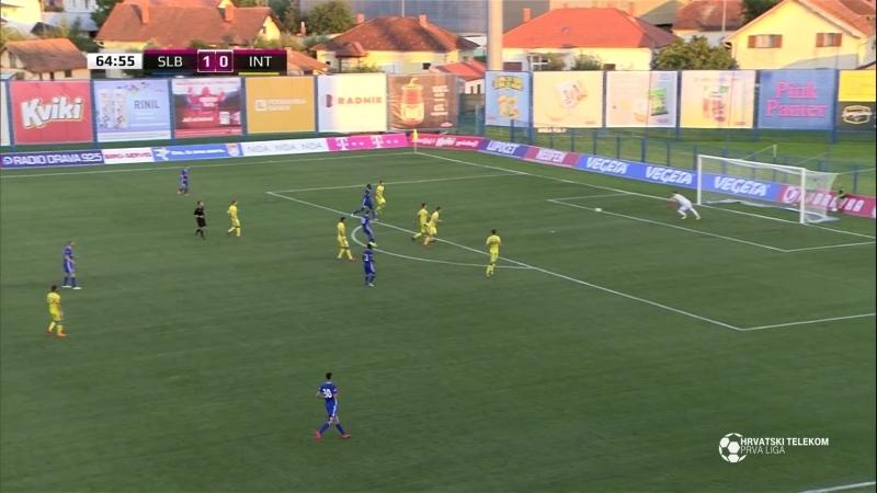 Slaven Belupo - Inter-Zapresic 2-1, Sazetak (1. HNL 2018/19, 4. kolo), 08.09.2018. Full HD