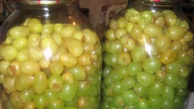 Об оливках и слышать не хочу после того как попробовала МАРИНОВАННЫЙ ВИНОГРАД Роскошь круглый год