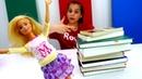 Мультики для девочек - Барби сдает экзамен - Видео про кукол