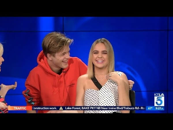Bailee Madison Auditions for a News Job with the Help of Boyfriend Alex Lange