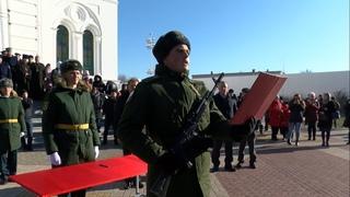 Белгородские казаки приняли присягу