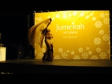 Viktoria's Christmas Belly Dance Performance @ Jumeirah Vittaveli