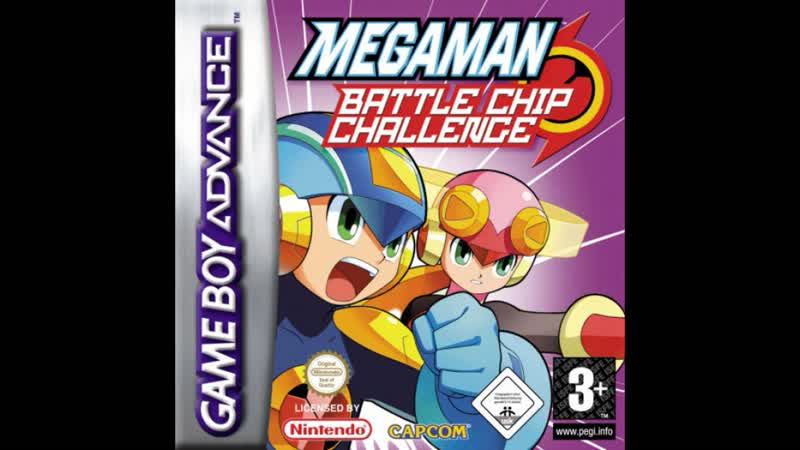 {Level 2} Mega Man Battle Chip Challenge OST - T03 Battle Chip GP Announcement