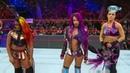 Sasha Banks, Bayley Ember Moon Vs The Riott Squad - WWE Raw 31/12/2018 En Español