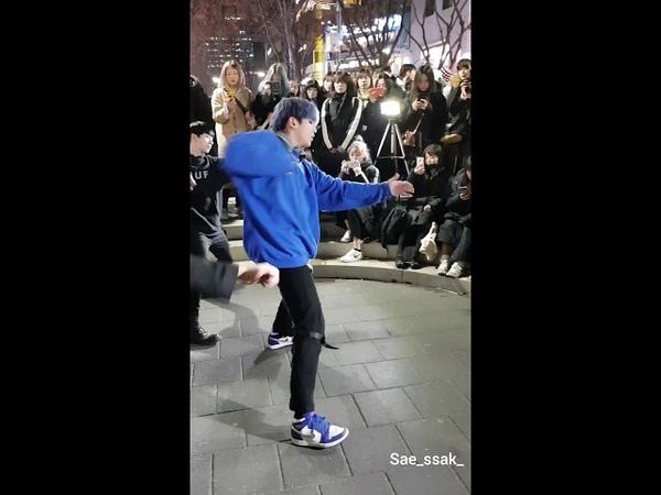 181214 홍대 디오비 dob 박진 focus 방탄소년단 bts - 아이돌 idol