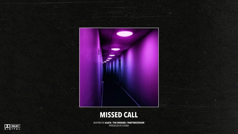 (FREE) 6LACK x The Weeknd Type Beat – Missed Call | Slow RB Instrumental 2019