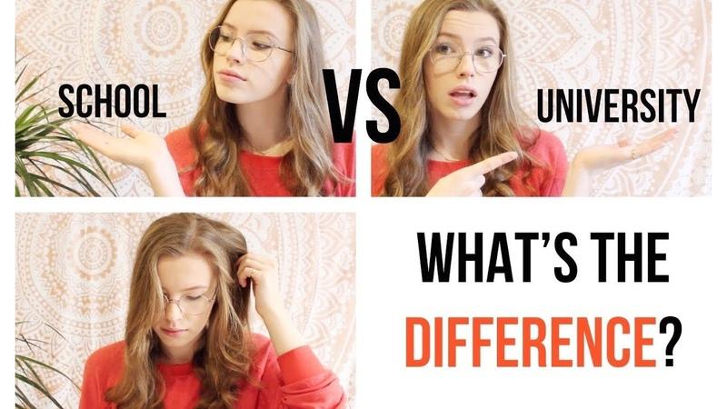 School vs University Life Unite Students
