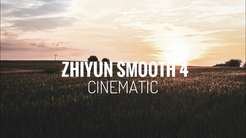 Zhiyun Smooth 4 Cinematic Test / JEAN SIPPEL