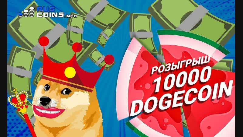 Розыгрыш 10000 DOGECOIN!