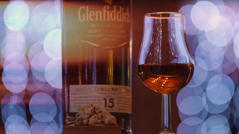 Glenfiddich perfect serve