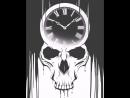 Clock and Skull animation