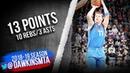 Luka Doncic Full Highlights 2019.03.21 Mavs vs Kings - 13 Pts, 10 Rebs, 3 Asts | FreeDawkins