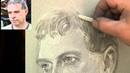 A portrait tutorial from La Place du Tertre featuring Hamid Darwish