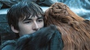 Bran Stark - Game of Thrones Season 7 Ep 3 The Queen's Justice Bran Sansa Reunion