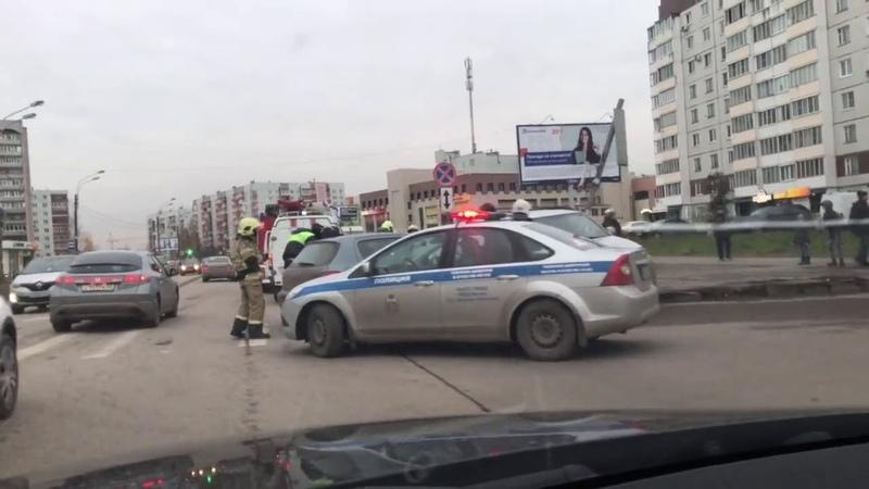 ДТП на улице Кочетова Великий Новгород Новгородская область