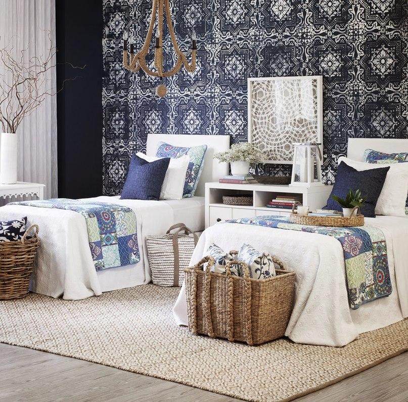 Спальня для детей подростков в деталях