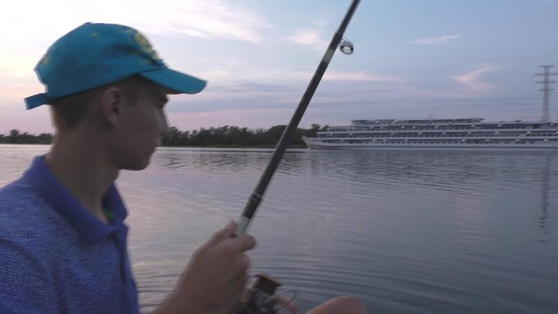 Рыбалка на реке Днепр. My fishing