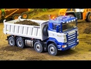Total RC Truck Action 3!! - RC FIRE TRUCKS, RC TRUCKS, RC TRACTOR, RC EXCAVATOR, RC MACHINES