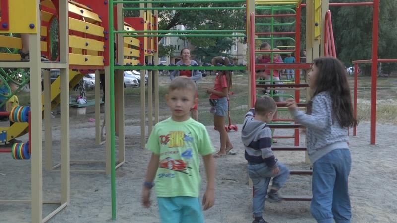 Новий дитячий майданчик облаштували у Полтаві у рамках проекту «Бюджет участі»