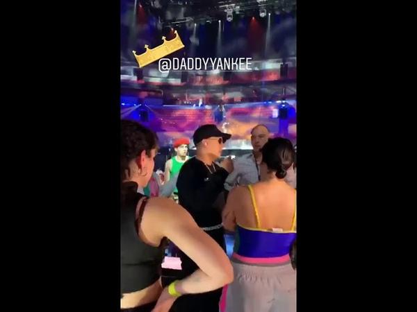 Daddy Yankee en los ensayos de PLN 2019