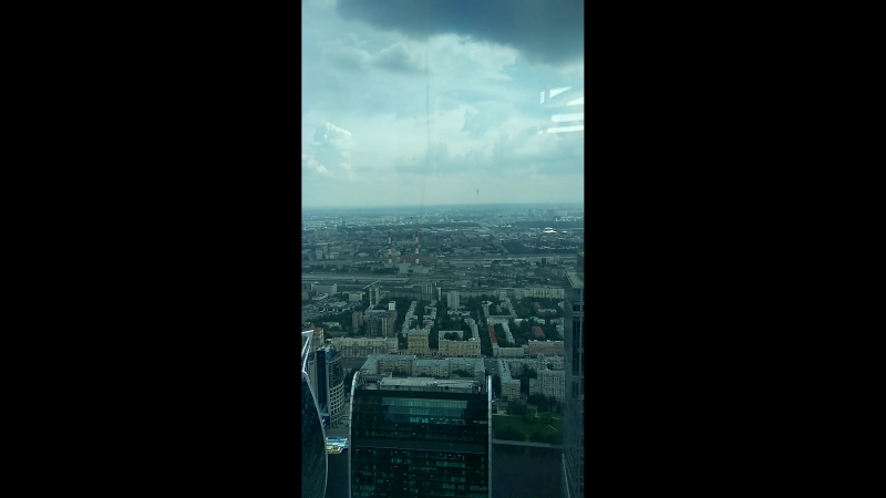 Москва Сити 89 этаже ))