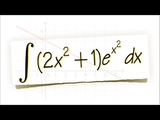 integral of (2x2+1)e(x2), doable and easy!