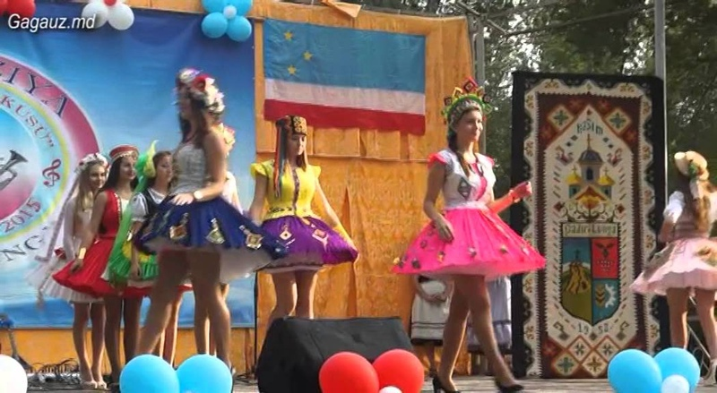 Фестиваль гагаузской песни в Чадыр - Лунге 2015