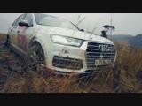 Сюрприз от Ауди. AUDI Q7 против Toyota Prado и VW TOUAREG на бездорожье  Оффроад покатушка