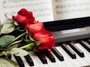 Жизнь - как фортепиано. Белые клавиши - это любовь и счастье, черные - горе и печаль.