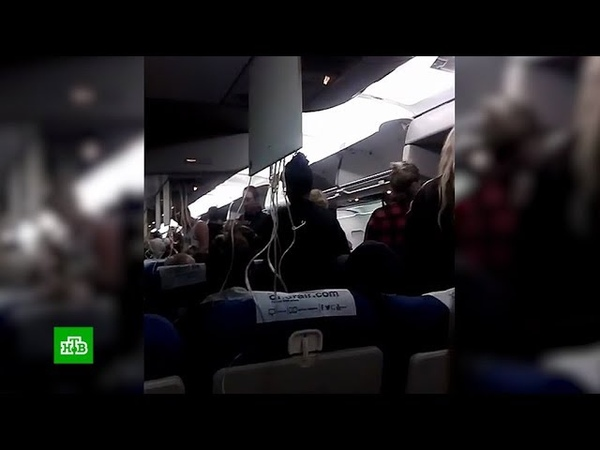 Паника и рыдающие дети что творилось на борту экстренно севшего в Волгограде самолета