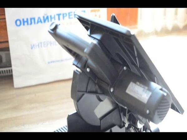 Распаковка и первые впечатления. Пила торцовочная комбинированная ИНТЕРСКОЛ ПТК-216/1100