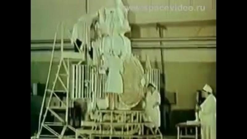 Автоматическая межпланетная станция ВЕНЕРА 4.. СССР. Д/ф.