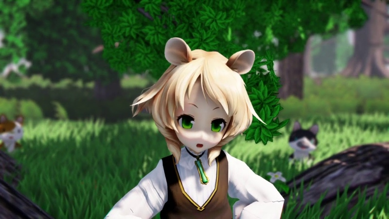 MMD ハロ/ハワユ Hello! How Are You ( Model マリエル Mariel )