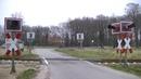 Spoorwegovergang Vechta D Railroad crossing Bahnübergang