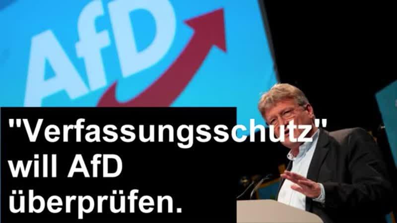 AfD ist Prüffall, CDU nicht.