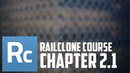 Railclone interface Style Editor and Curve Steps option Railclone object creation