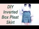 DIY Inverted Box Pleat Skirt / 服作り / 옷만들기 / 手作教學 / Costura / Sewing Tutorialㅣmadebyaya