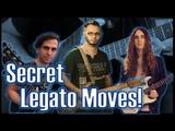 Secret Legato from the Masters! Tom Quayle Nick Johnston Israel Romero Inspired Lick