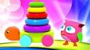 Hophop die Eule. Zahlen Lernen leicht gemacht. Zeichentrickfilm für Kinder.