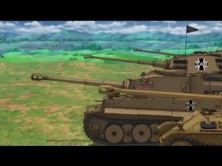 Girls und Panzer - Panzerlied feat. Battle of the Bulge (1965) Vocals